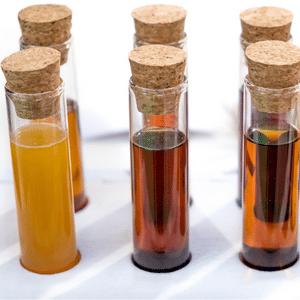 Dark-colored urine