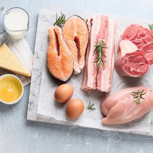 High Animal protein diet