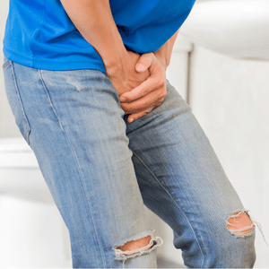 Pain while urinating